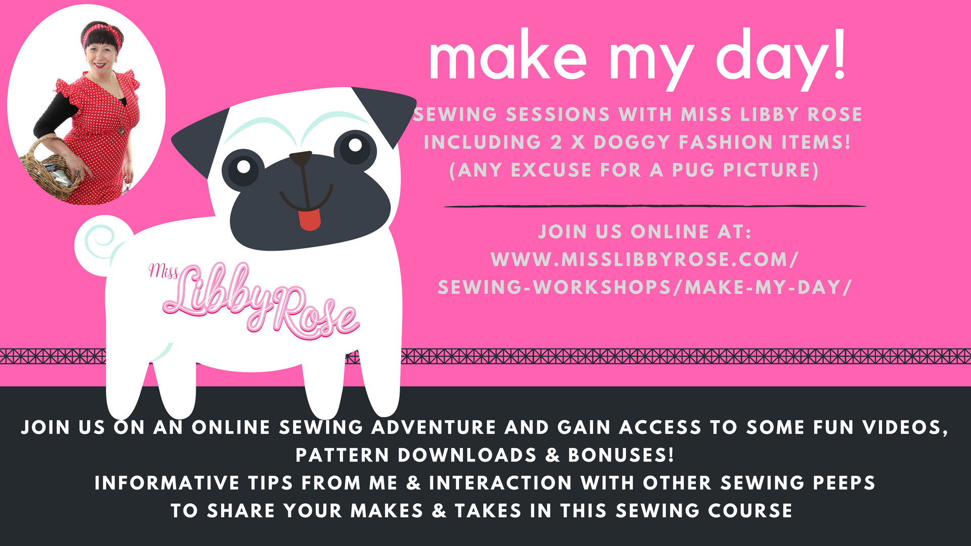 make my day online sewing sessions with miss libby rose. Black Bedroom Furniture Sets. Home Design Ideas